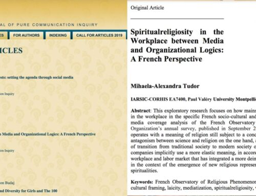 Spiritualreligiosity in the Workplace between Media and Organizational Logics: A French Perspective