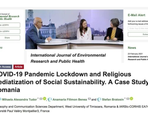 Mediatizing Sustainability during the COVID-19 Pandemic: Religious Institutions Reponses